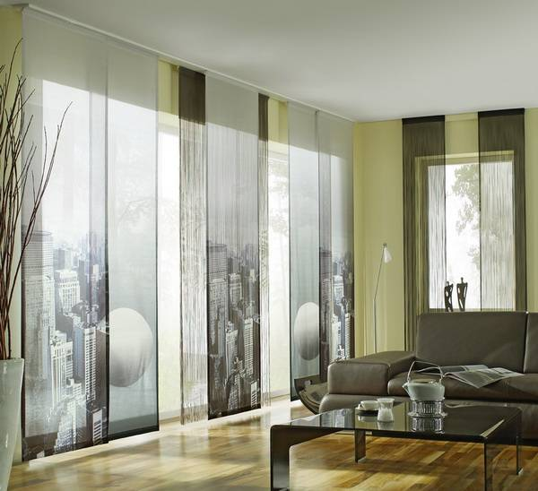 Двухсторонние шторы: 50 идей необычного дизайна помещения - арт интерьер