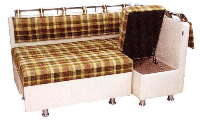 Раскладной диван накухню— 40 фото красивых моделей