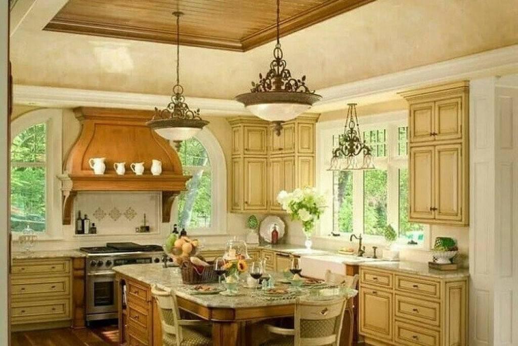 Душевное тепло деревенской простоты на кухне в стиле кантри