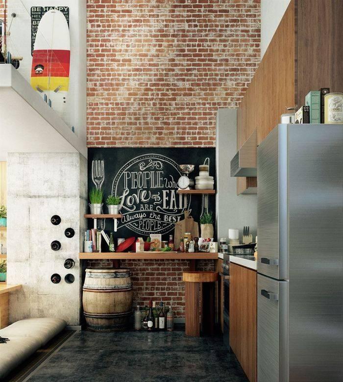 Секреты стиля лофт: идеи для вдохновения и воплощения на кухне
