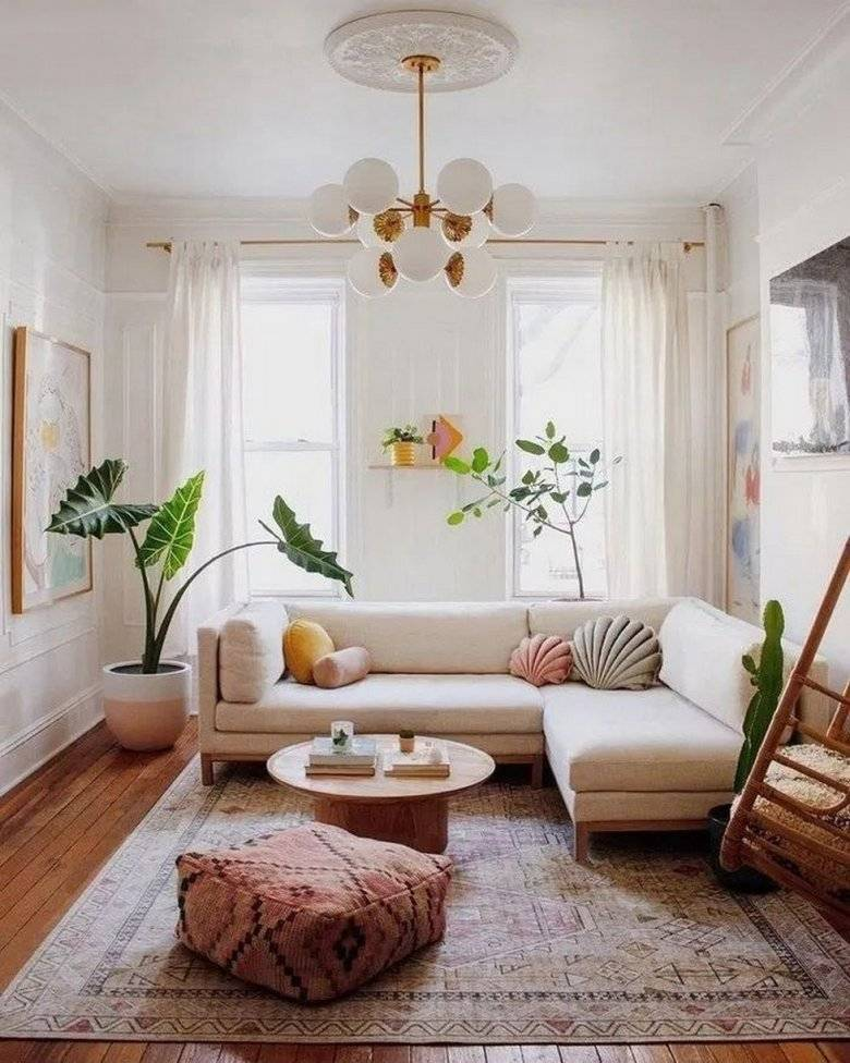 Интерьер маленькой гостиной (119 фото): современные идеи дизайна небольшого зала в квартире. как обустроить мини-комнату?