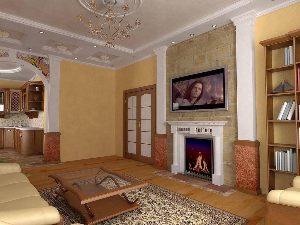 Интерьер зала в квартире - 100 фото разных дизайнерских решений