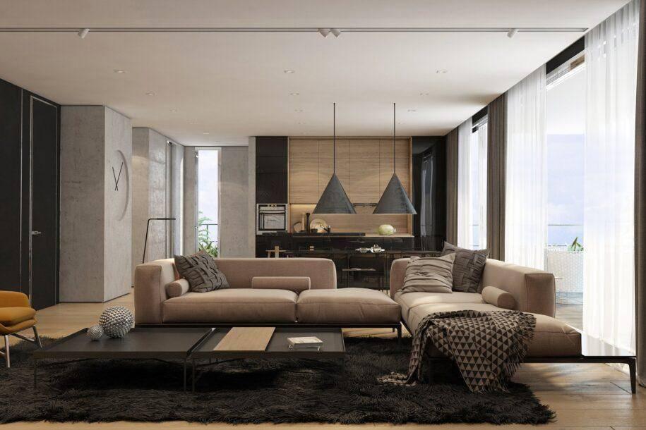 Контемпорари: что это такое, стиль в дизайне интерьера квартиры, континентальный contemporary interior design кухни и гостиной