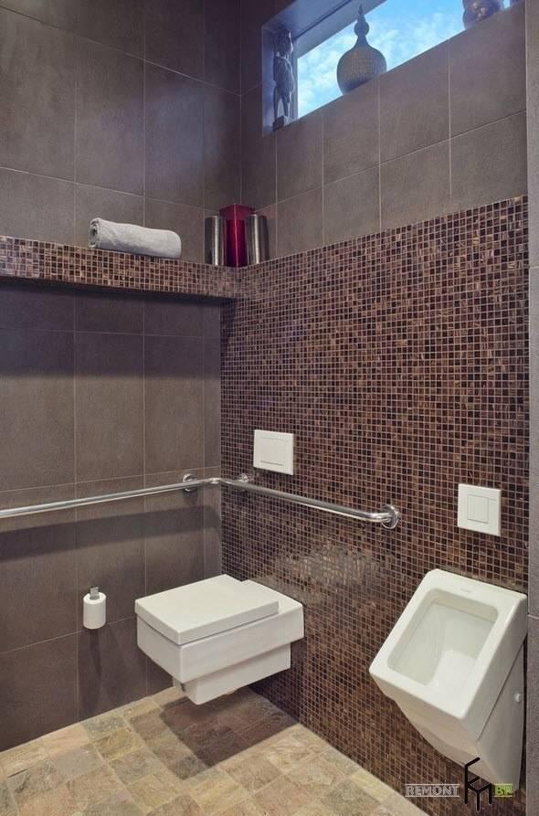 Плитка для туалета: фото подборка дизайн-вариантов и примеров облицовки