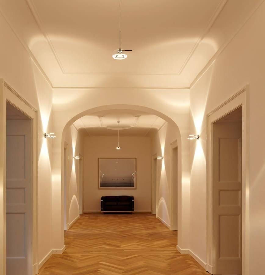Гипсокартонный потолок в прихожей