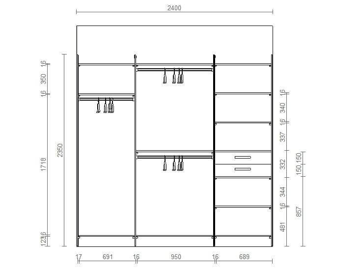 Гардеробные комнаты и их дизайн проекты
