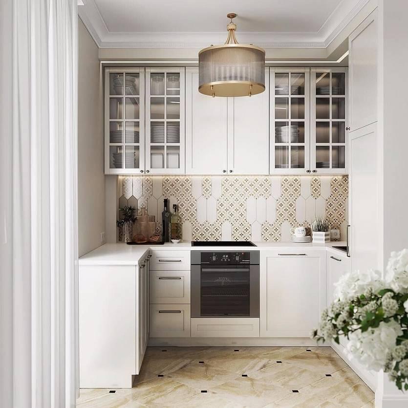 Ремонт кухни 6 кв.м в хрущевке — 32 фото до и после