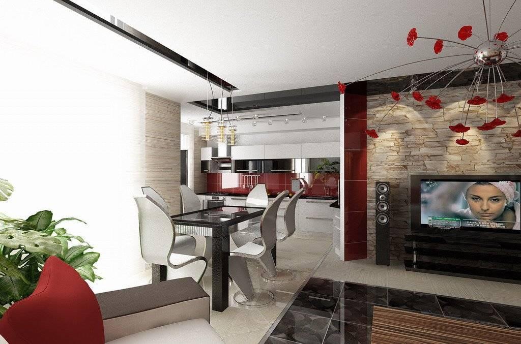 Кухня-гостиная: совмещенные кухня с гостиной в интерьере, объединяем вместе