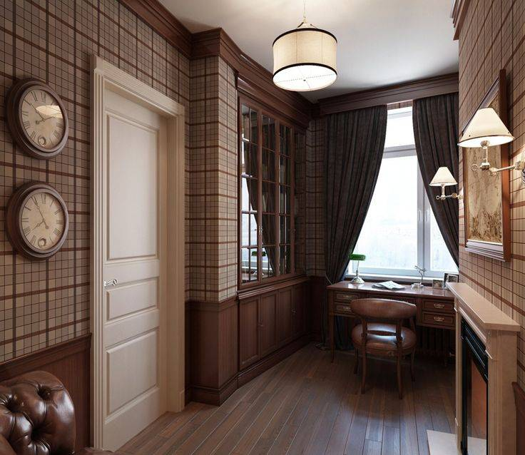 Особенности английского стиля в интерьере, подбор мебели и штор