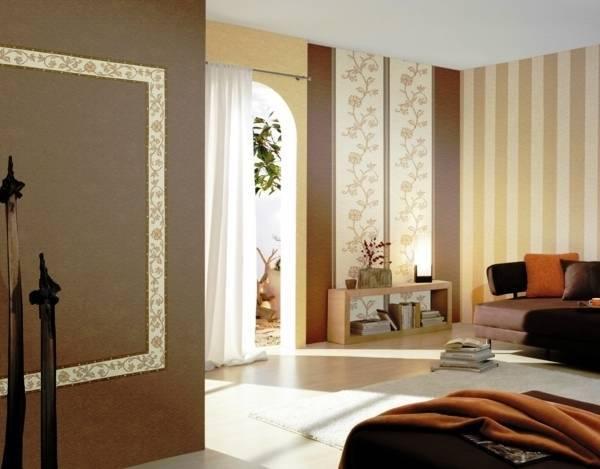 Обои-компаньоны в интерьере комнат