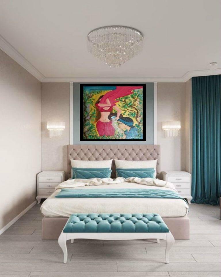 Спальня в коричневых тонах: особенности, сочетания, фото в интерьере