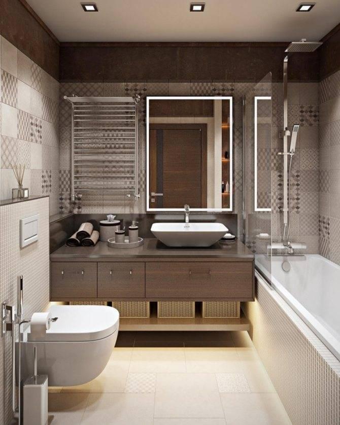 Дизайн ванной 2020-2021 - лучшие идеи и тренды (55 фото)