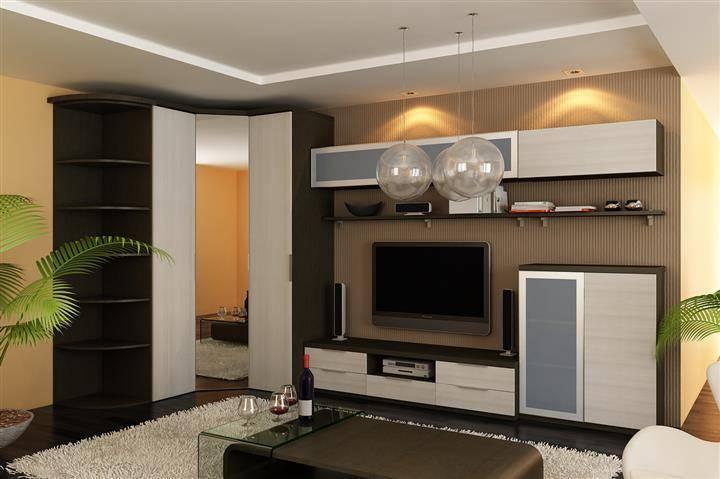 Модульные гостиные: современный дизайн функционального дома (90 фото)   модульная мебель для гостиной в современном стиле