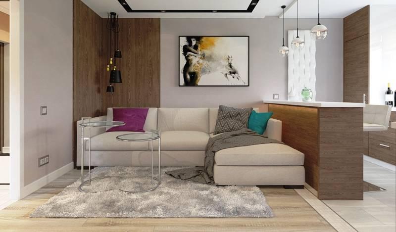 Планируем дизайн однокомнатной квартиры 42 кв. м.