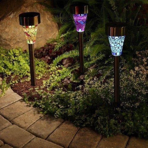 Садовые фонари на солнечных батареях по низкой стоимости