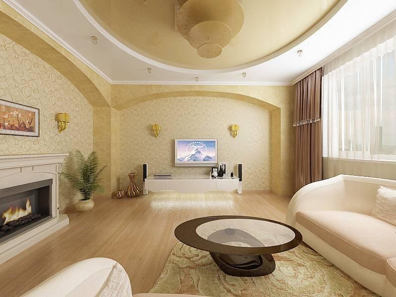 Идеи красивого и современного дизайна зала после ремонта