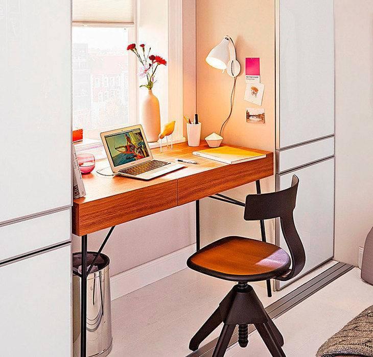 Стол-подоконник – особенности изготовления, правила использования и уход (115 фото)