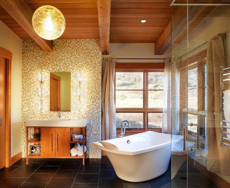 Ванная комната в частном доме: варианты, проекты и дизайн для ванных комнат