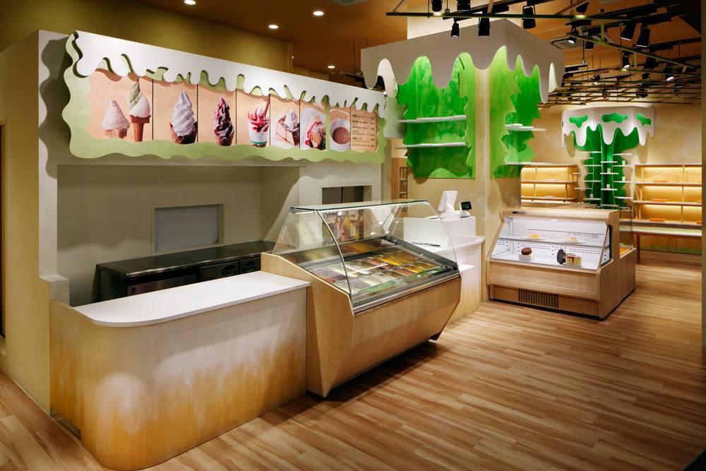 Продуктовый магазин - дизайн помещения внутри и снаружи