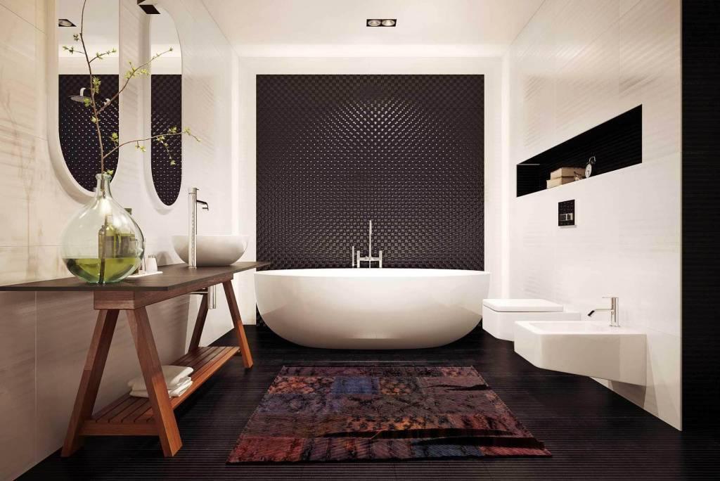 Ванная в классическом стиле - лучшие идеи дизайна и советы по применению современных видов оформления (85 фото)