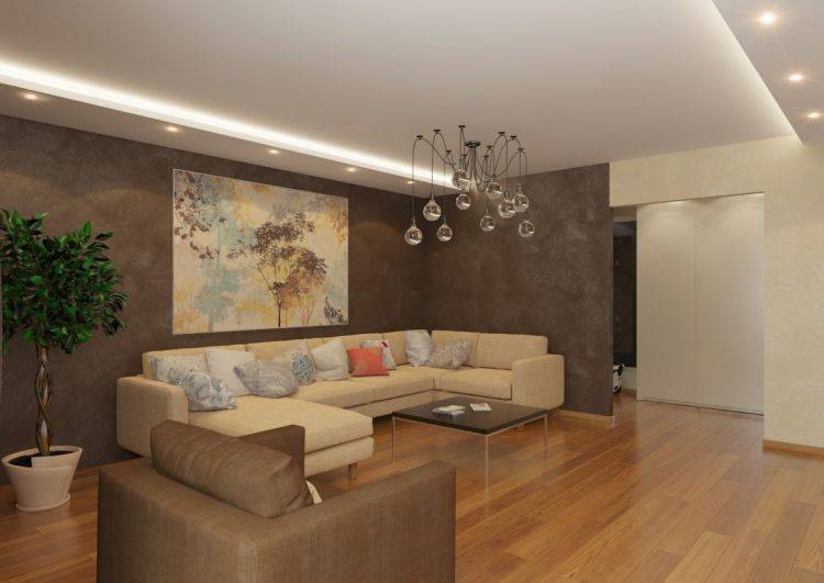 Дизайн зала в квартире