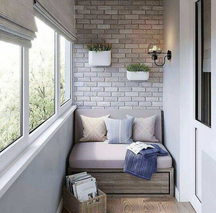 Дизайн балкона в квартире: топ-100 фото самых модных решений!