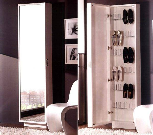 Узкий шкаф-купе в прихожую: модели 40 и 30 см глубиной для длинного коридора
