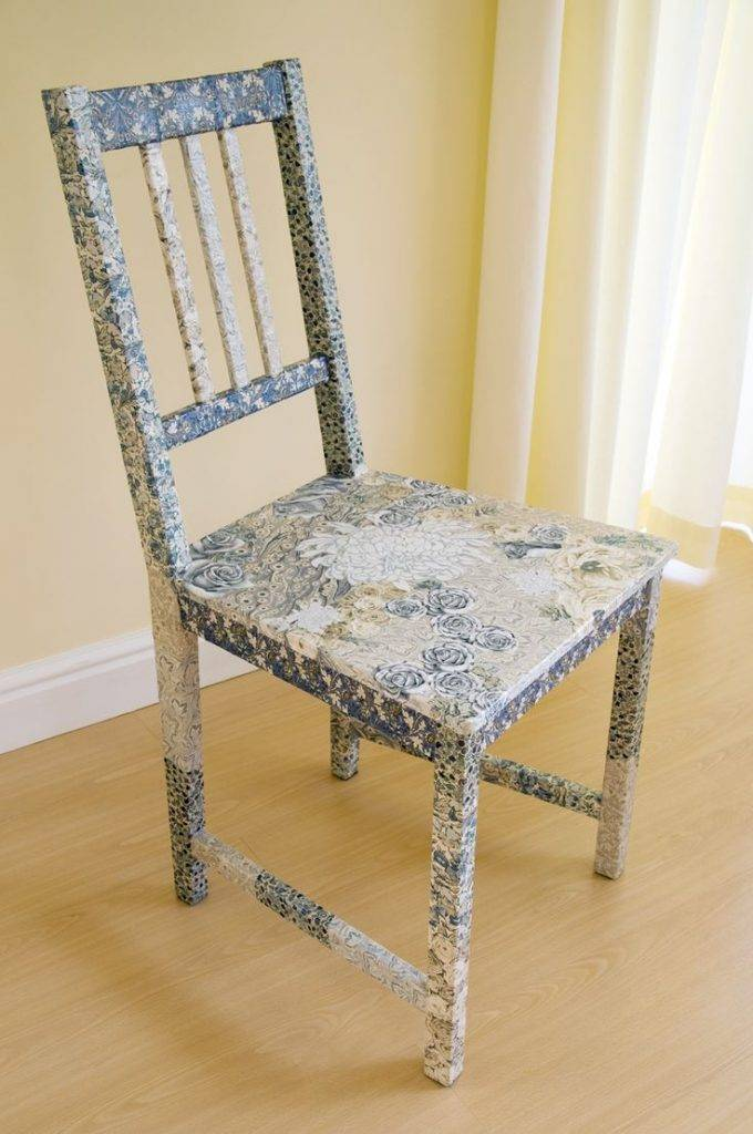 Декор стульев: способы стильного украшения различных типов стульев (135 фото)