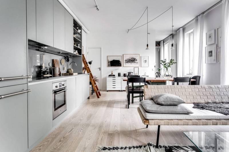 Кухня в скандинавском стиле: 99 фото в интерьере, идеи дизайна