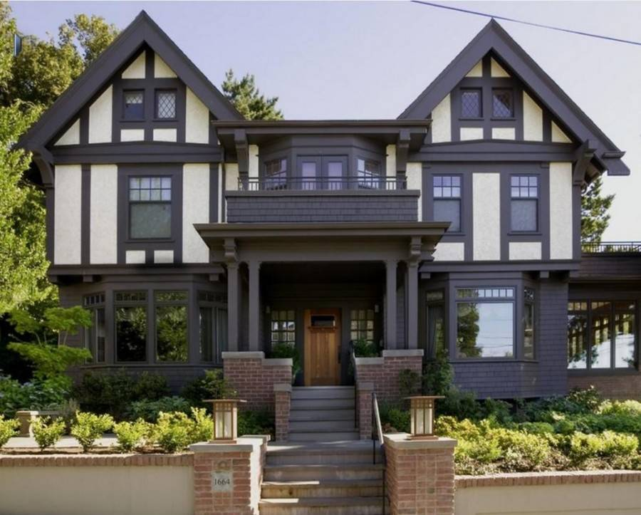 Виды отделок фасадов частного дома, фото примеров