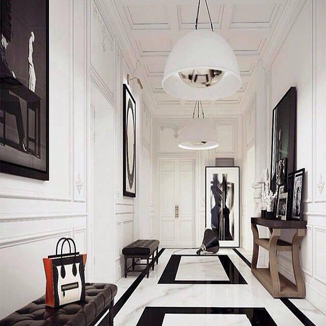 Темный коридор (43 фото): дизайн прихожей в черных и коричневых тонах, нюансы оформления коридора в квартире с темным полом, стенами и дверями