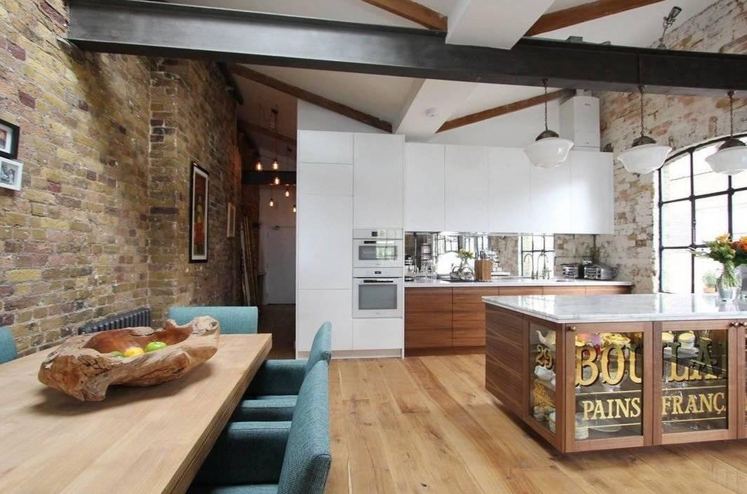 Кухня в стиле лофт: лучшие идеи дизайна и обустройства (40 фото)