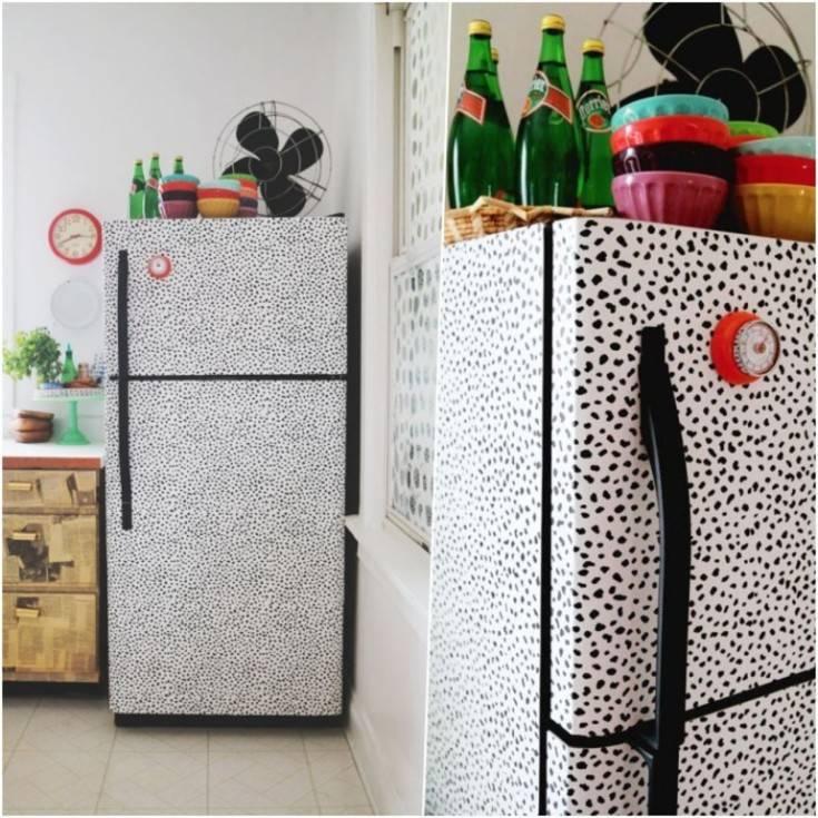 Декорируем холодильник