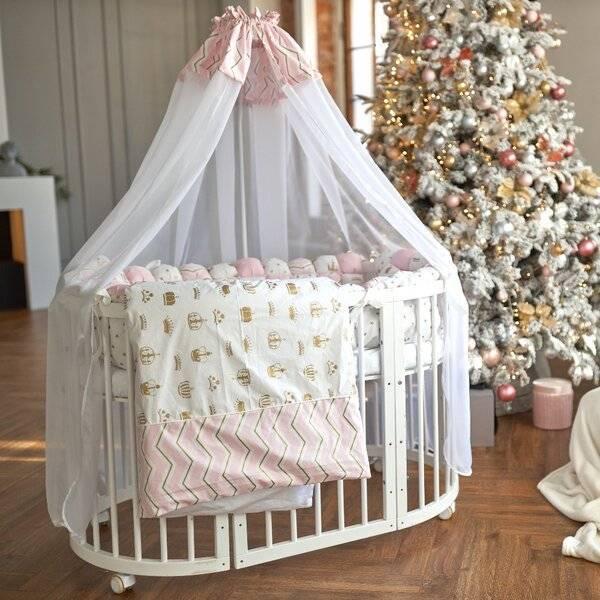 Балдахин в детскую кроватку из каких материалов