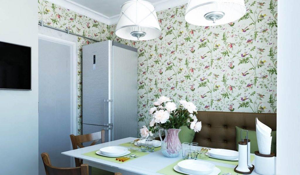 Обои в стиле прованс для кухни: 45 фото в интерьере, лучшие идеи