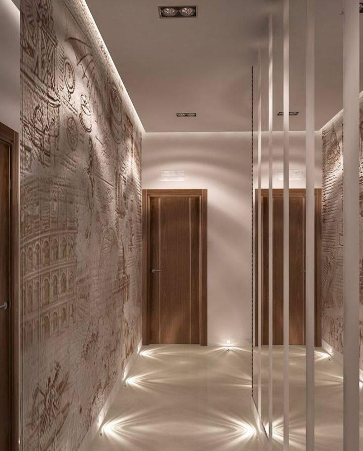 Примеры дизайна коридоров в квартирах после ремонта