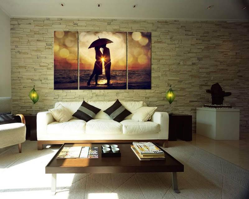 Декоративные картины в интерьере: 80+ фото, красивые идеи декора стен