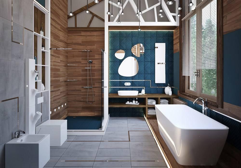 Как сделать нереально красивую ванную в частном доме. 100 идей