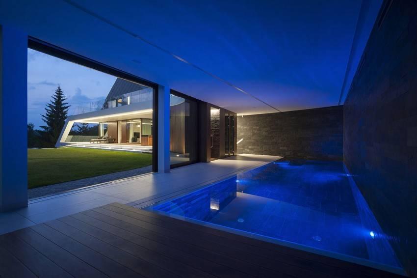 Дизайн бассейна в частном доме: популярные способы оформления