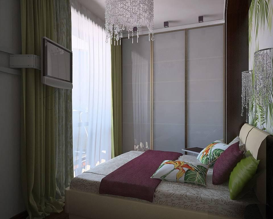 Дизайн и оформление спальни 9 кв.м. - выбор мебели, 75 фото идей