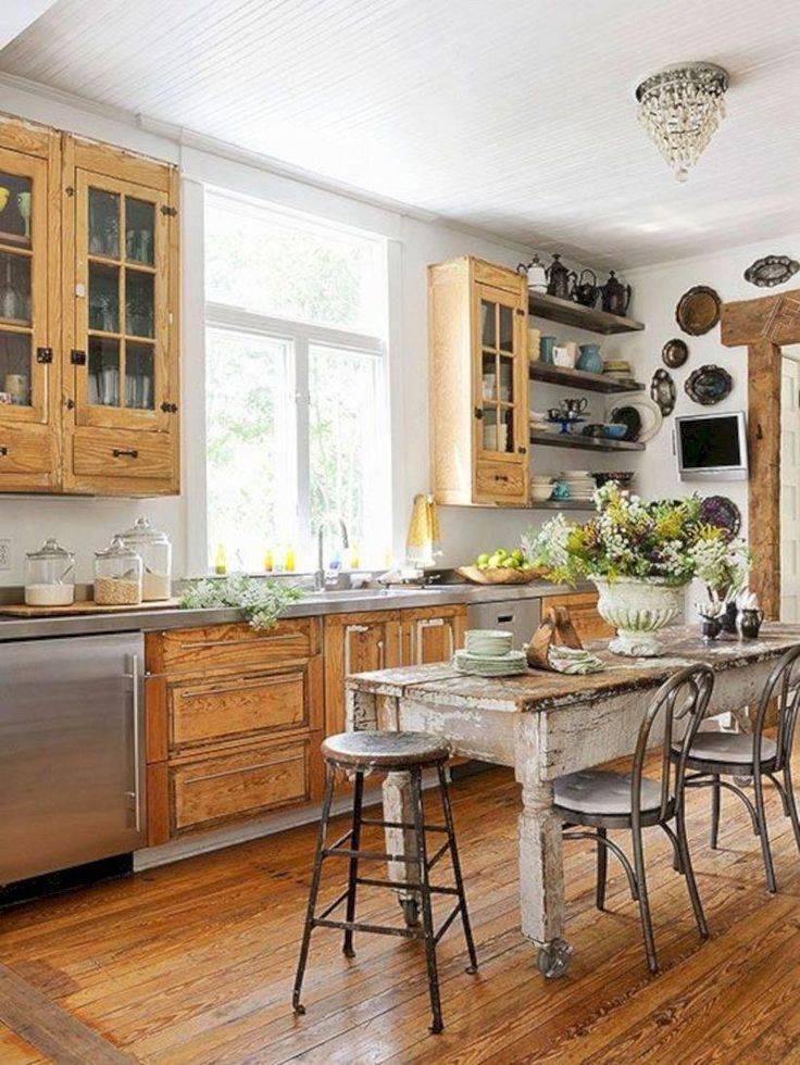 Кухня в деревенском стиле: лучшие идеи для оформления интерьеров (+89 фото)