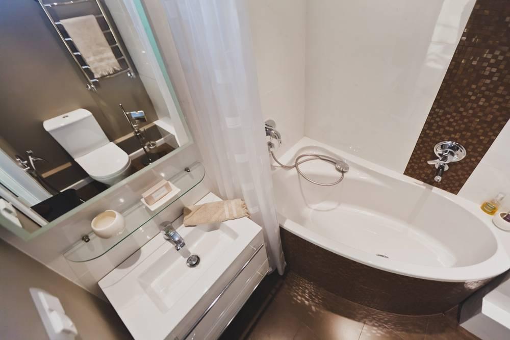 Практические идеи для ванной комнаты на 2 кв.м