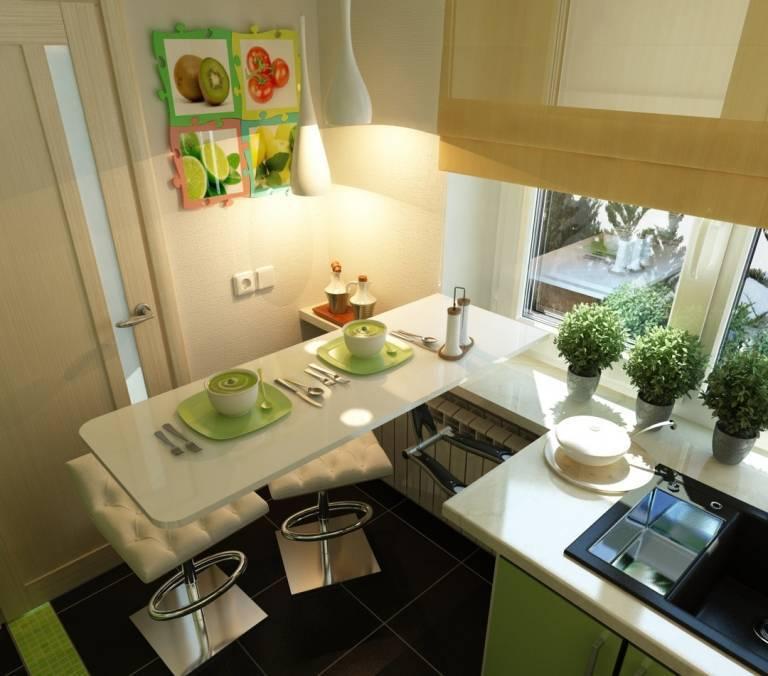 Дизайн кухни 4 кв. м – 50 фото-идей и гид по обустройству