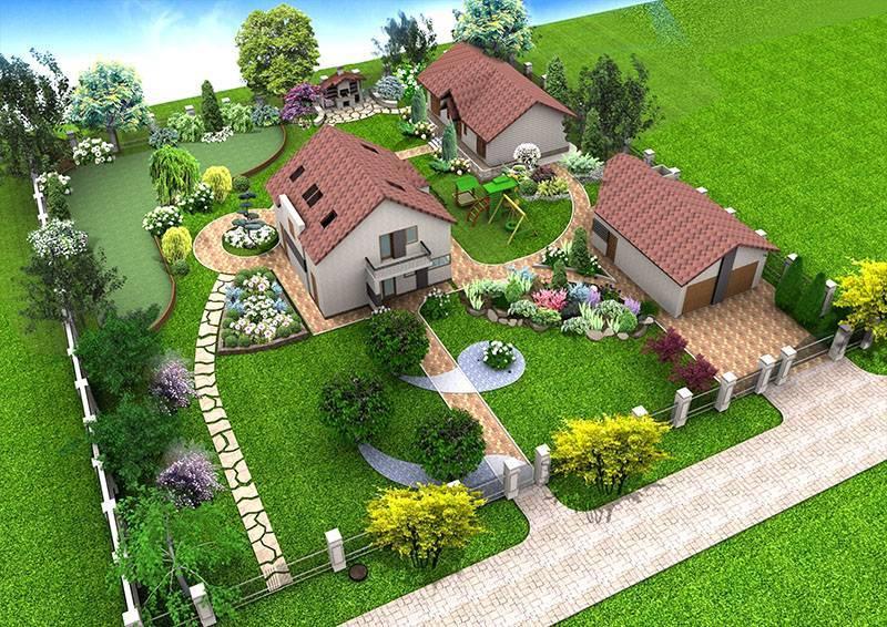Ландшафтный дизайн участка в 15 соток: нюансы проектирования участка
