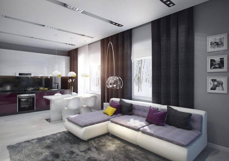 75 оригинальных идей современного интерьера гостиной 18 кв.м.
