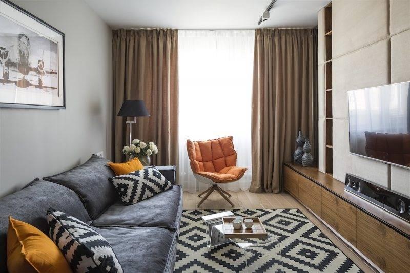 Каким должен быть интерьер маленькой гостиной