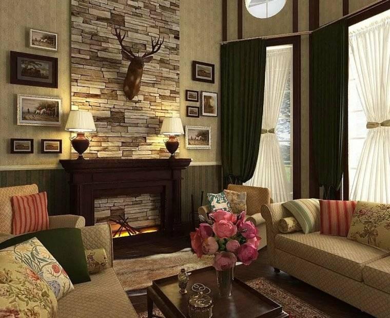 Гостиная с угловым камином (33 фото): идеи дизайна квартиры с камином и телевизором