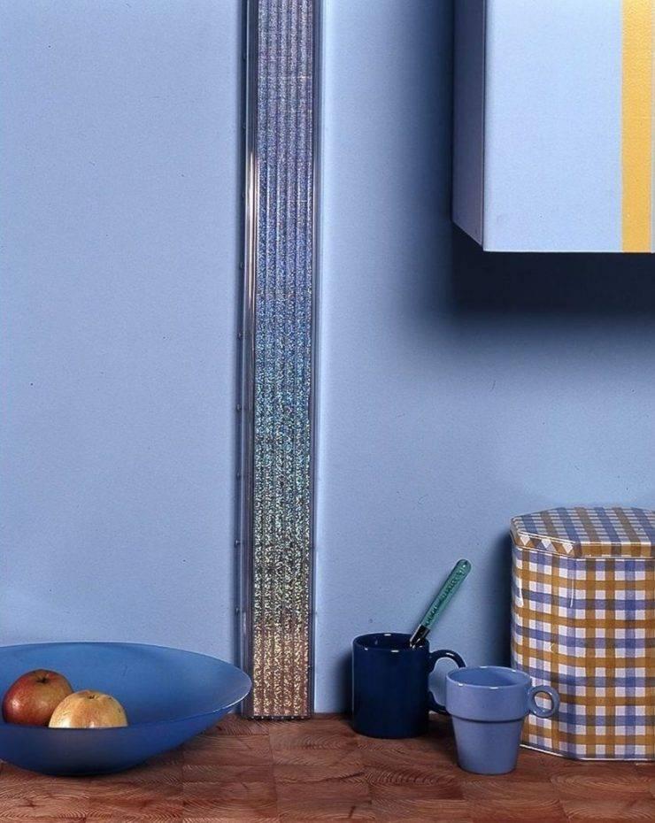 Как спрятать газовую трубу на кухне: идеи, советы, фото