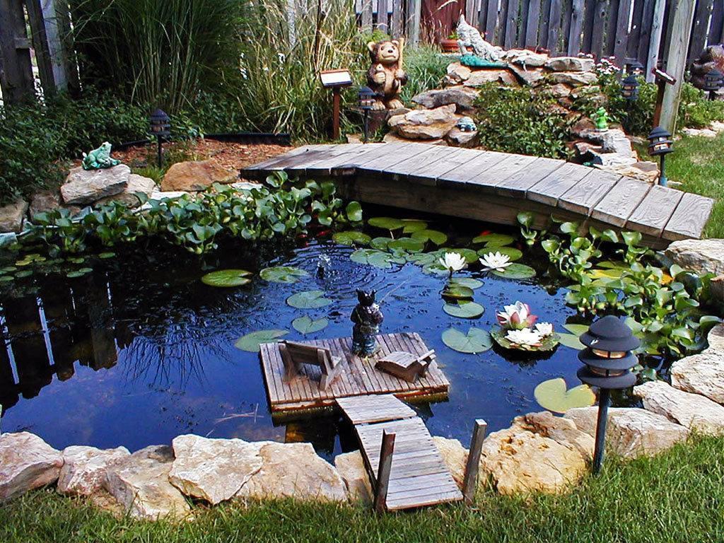Пруд на даче своими руками — садовый пруд вашей мечты!