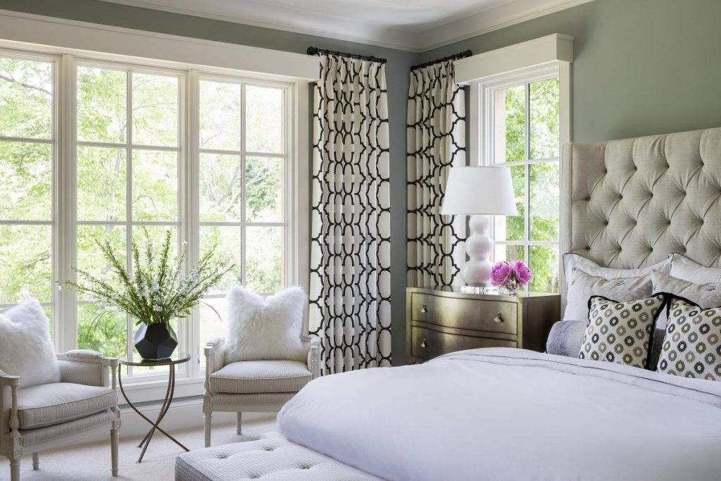 Какие шторы в спальню будут модными в 2020: актуальные тренды
